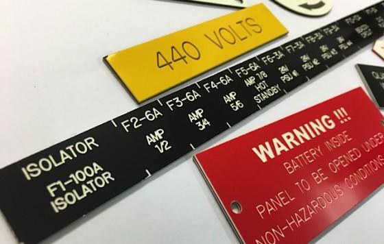 Nameplate Engraving