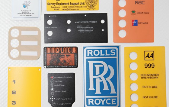 Polycarbonate Labels Various