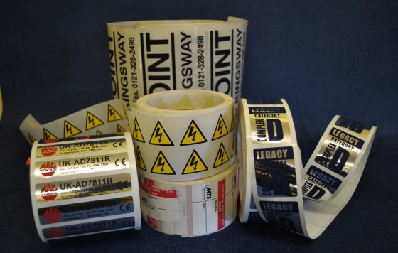 Various Self Adhesive Roll Labels